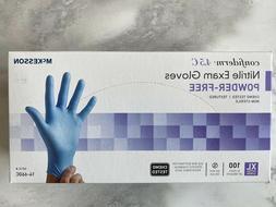 McKesson Nitrile Exam Gloves Power-Free Size XL 100 ct. Conf