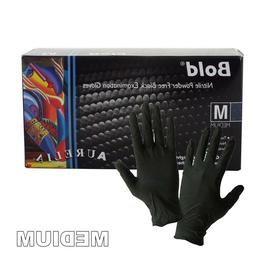 NITRILE Exam Grade disposable rubber Powder Free gloves 100