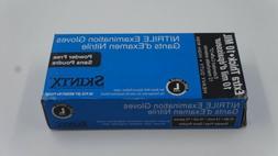 SKINTX NITRILE EXAMINATION POWDER FREE EXTRA THICK LARGE 50P