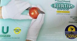 Nitrile Gloves -100 Ct Powerfree XL size  ~Sanitary~ Strong