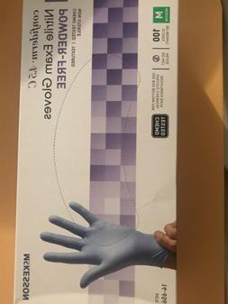 nitrile gloves medical Mckesson 100 gloves SIZE M