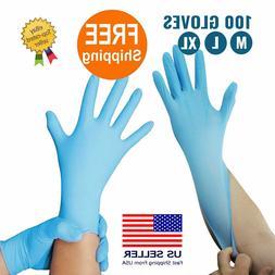 Nitrile Gloves Powder Free  100PK  M L XL