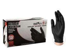 Nitrile Gloves, Powder- Free,Non Latex, Case Of 100 pcs, Siz