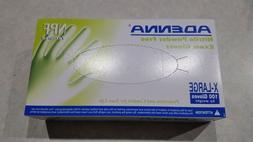 Adenna Nitrile Gloves XL.Dental/Jewelry/Auto Repair/Art .Box