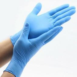 Disposable Nitrile Non-latex Non-vinyl Power Free Gloves - 2