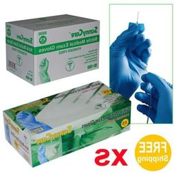 Sunnycare #8600 Nitrile Medical Exam Gloves Powder Free Size