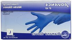 Nitrile Powder Free Gloves, Blue, Box of 100 - Multi Purpose