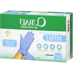 Curad Nitrile Powder-Free Exam Gloves, 100 ct LATEX FREE