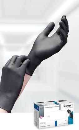 Tronex Nitrile Powder- Free Textured Disposable Gloves, one