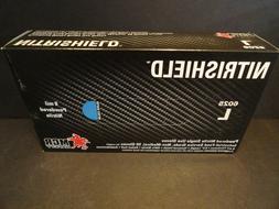 Nitrishield Size Large 8 mil Powdered Nitrile Gloves FDA App