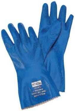 "Honeywell NK803ES/9 Supported Nitrile Gloves, 1"" Height, 5"""