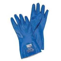 North NK803 Blue 11 Nitrile Supported Chemical-Resistant Glo
