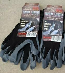 NWT Lot of 8 ATLAS GLOVE Nitrile Touch Sizes XS SM MED Glove