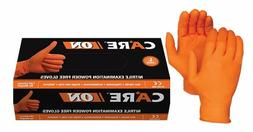 Skyntx Orange Medical Nitrile Exam Latex Free Disposable Glo