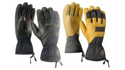 BLACK DIAMOND PATROL LEATHER SKI & SNOWBOARD GLOVES 2 COLORS