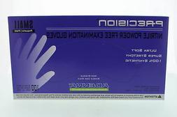 Adenna PCS772 Precision Nitrile Powder Free Exam Gloves, Sma