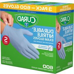 Curad Powder Free Latex Free Medical Grade Exam Glove Nitril