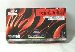 Latex Powdered Exam Gloves, Ergonomically Designed, X Small