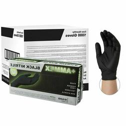 Ammex Professional Series Black Nitrile - Case of 1,000