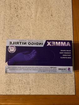 AMMEX Professional Series Indigo Nitrile Gloves | Box of 100