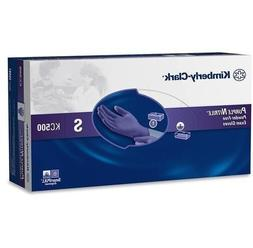 Purple Nitrile Exam Glove, Small, Kimberly Clark Halyard 550