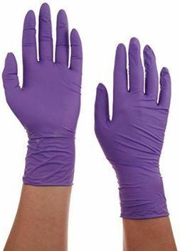 Purple Nitrile Exam Glove, Large, Kimberly Clark Halyard 550