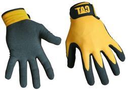 Rainwear Boss Foam Cell Nitrile Coated Gloves in Yellow - Si