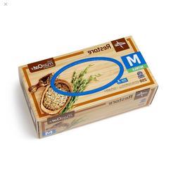 Medline Restore Powder-Free Nitrile Exam Gloves with Oatmeal