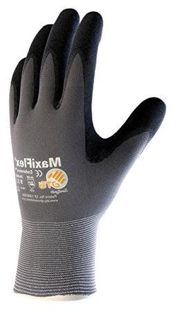 seamless knit nylon glove