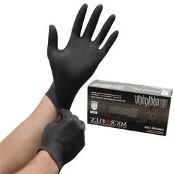 1000 Microflex MidKnight Nitrile Gloves, 10 boxes S, M, L, X
