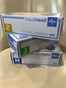 Medline SmartGuard  Nitrile Exam Powder Free gloves 230. Ext