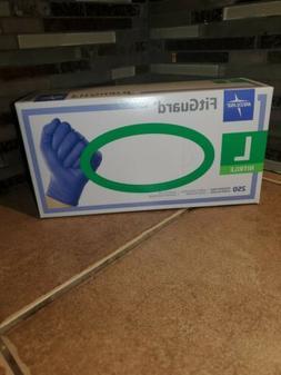 Medline SmartGuard  Nitrile  Powder Free gloves Large 250