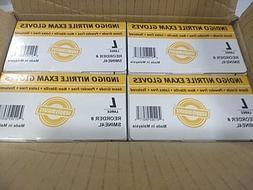SupplyMaster SMINE4L Indigo Nitrile Exam Disposable Gloves: