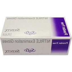 Skintx Soft Nitrile Powder-Free Exam Gloves - Box of 100