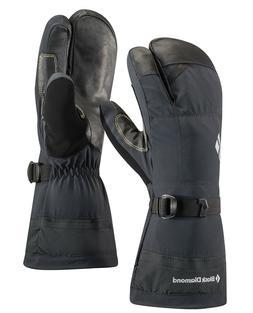 Black Diamond Soloist Finger Cold Weather Gloves, Black, X-L