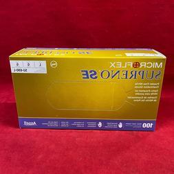 Microflex SU690L Supreno SE Powder Free Nitrile Glove Size L