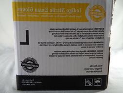 SupplyMaster  SMINE4L Exam Nitrile Gloves Disposable Powder