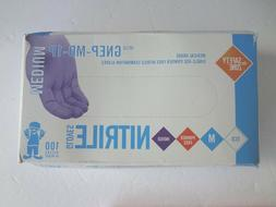 The Safety Zone GNEP-SM-1P Nitrile Exam Gloves Medical Grade