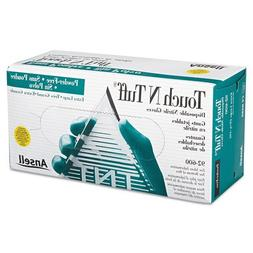 AnsellPro Touch N Tuff Nitrile Gloves, Teal, X-Large, Includ