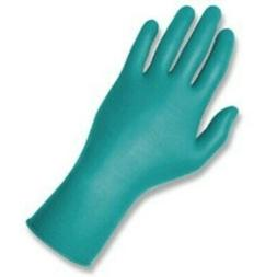 Touch N Tuff Nitrile Gloves, Teal, Size 8.5-9, 100 Gloves/Bo