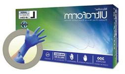MICROFLEX ULTRAFORM POWDER-FREE NITRILE EXAM GLOVE - 10 BOXE