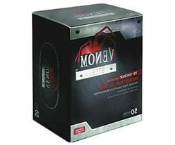 Venom Disposable Premium Nitrile Gloves - 50 / Box - Black