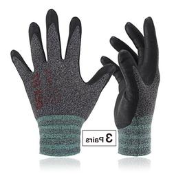 Work Gloves FN330, Durable Water Based Nitrile, 3D Comfort P