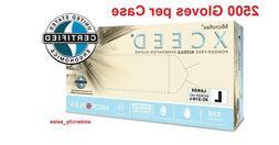 "Microflex XCEED Nitrile 9.5"" Medical Examination Gloves 2.8"