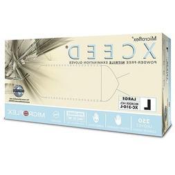 Microflex XCEED PF Nitrile Exam Glove, 250/Box, 10 Boxes/Cas