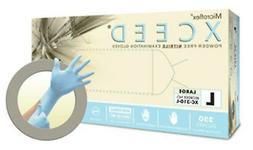 MICROFLEX XCEED POWDER-FREE NITRILE EXAM GLOVES  -10 BOXES O