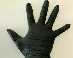 XL Black Gloves Nitrile Powder Free Mckesson US Shipping Pai