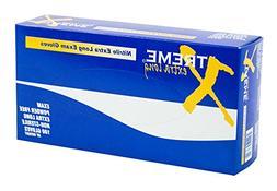 AMMEX - XNPFL46100-BX - Extra Long Nitrile Gloves - Xtreme -