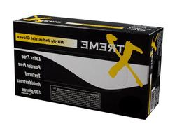 AMMEX - XNPF42100-BX - Nitrile Gloves - Xtreme - Disposable,